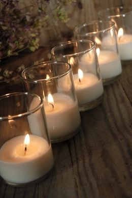 Bio-Lights Candles -renewable plant based wax (48 candles) **Add glitter and voila! :)