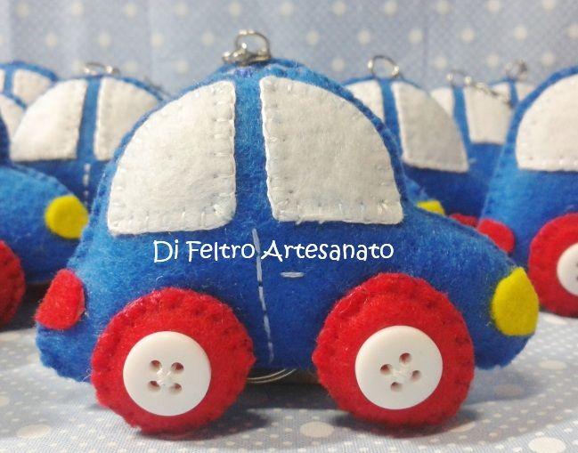 Lembrançinha de maternidade - Chaveiro de Carro