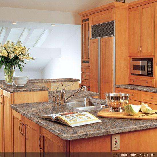 Bathroom Laminate Countertops: Laminate Countertops Using A