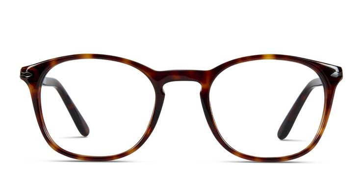 The Persol 3007V is a full-rimmed round frame with subtle cat-eye. Crafted from premium acetate, it features a retro keyhole bridge and elegant arms with a glossy finish. Classy, sophisticated & timeless.
