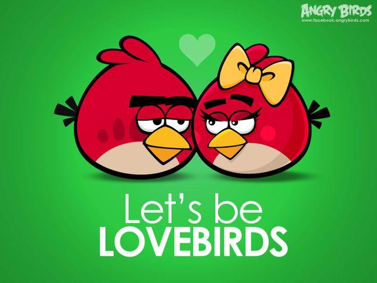 Красная птица-девочка — неиграбельный персонаж. Возможная cупруга или невеста Реда, на которого она сильно похожа, но, в отличие от него, на ней завязан жёлтый бант, она имеет ресницы, румянец и более короткие и тонкие брови. Появляется на фотографии в конце эпизода Angry Birds Seasons Hogs and Kisses, после прохождения всех 15-ти уровней. Ещё она появлялась в Angry Birds Friends, как бесплатная птица для создания аватаров.