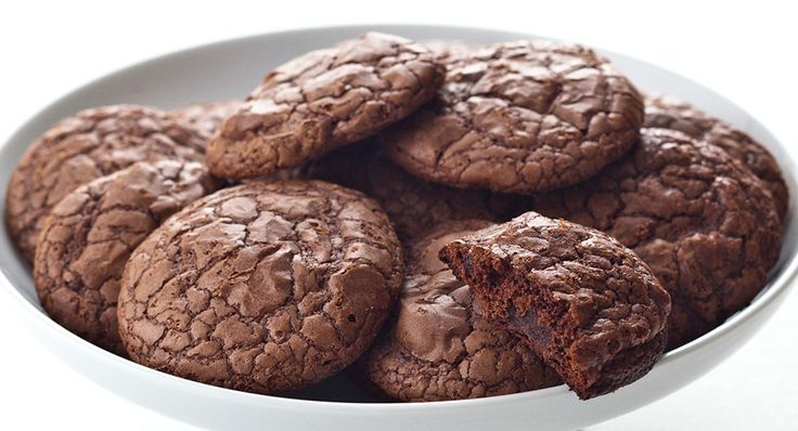 Chocolate Crackled Cookies - Sweet and smokey, almost like a Mexican ...