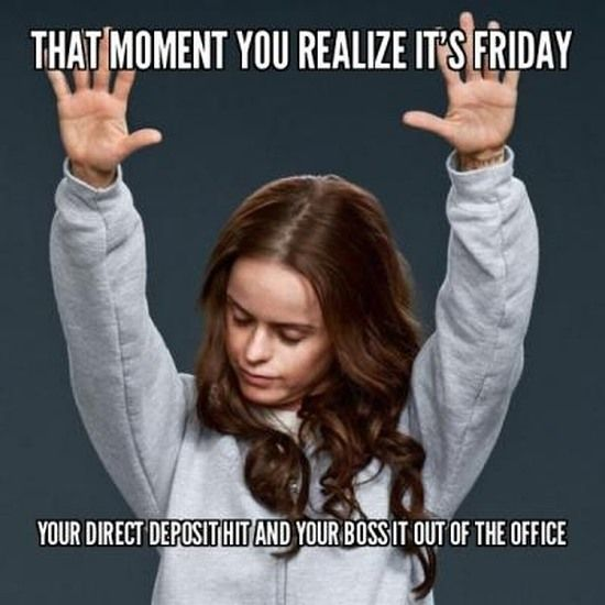 Funny Memes About Work On Friday : Best images about friday memes on pinterest