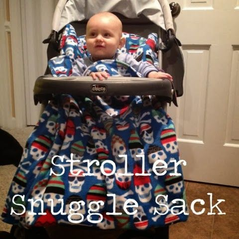 Thank You Ma'am: How to make a Stroller Snuggle Sack