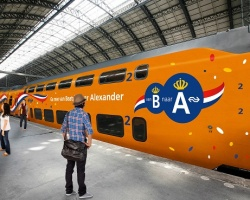 De Oranje trein van de Koning van NS gaat door heel Nederland rijden.
