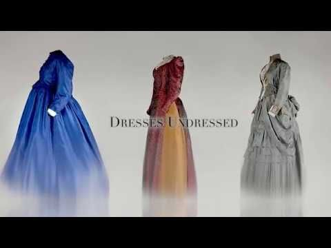 Historical dresses undressed