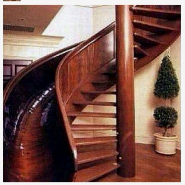 Obviously!: Spirals Staircases, Walks, Spirals Stairs, Dreams House, Sliding Stairs, Future House, I Want This, Kids, Stairs Sliding