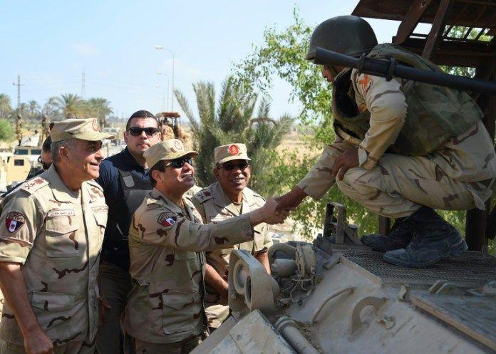 12 mort dans les rangs de l'armée égyptienne après l'attaque de l'EI
