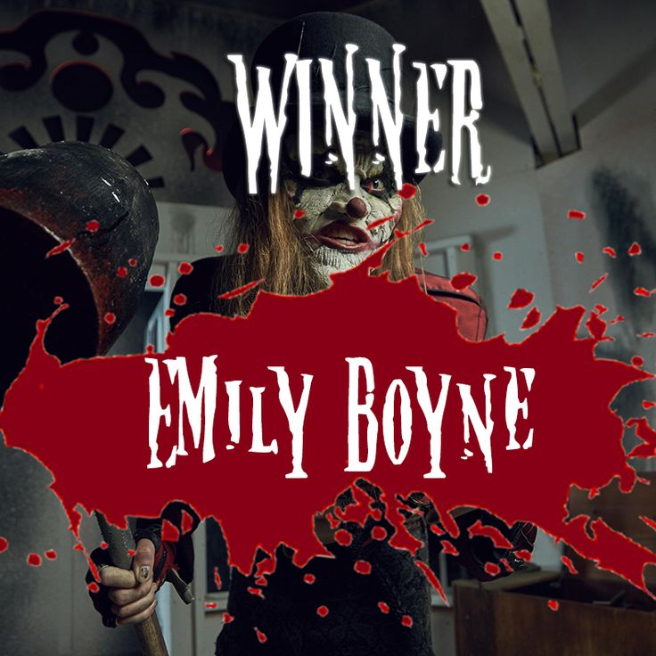 Congratulations to our Competition Winner - Emily Boyne!  Enjoy The Nightmare Realm!
