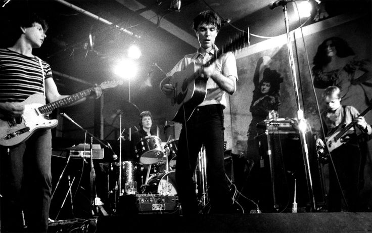 Talking Heads, CBGB. 1977. In his photographs of the 1970s music scene, David Godlis helped capture the grit and urgency of the era.