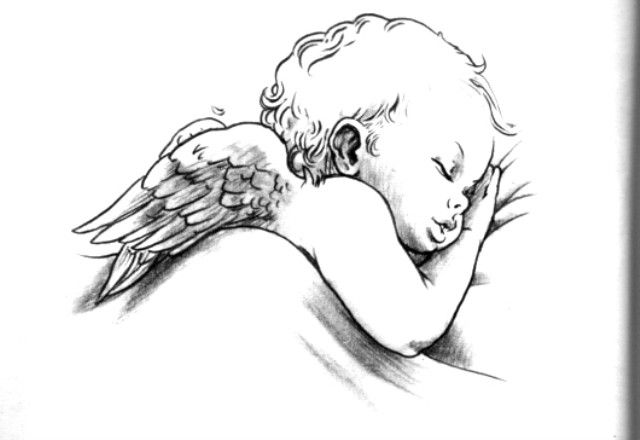 cherub angel tattoos | DISEGNI TATUAGGI ANGELI-tatuaggi angeli foto-tatuaggio angeli-tatuaggi ...
