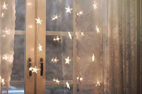 Love the twinkle lights