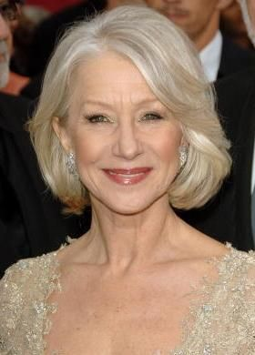 18 Great Hairstyles for Women in Their 60s: Helen Mirren (1945)
