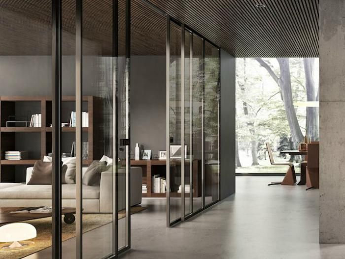 46 best Porte coulissante en verre images on Pinterest Sliding - mettre des portes coulissantes
