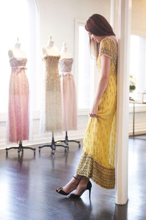 Beautiful yellow dress