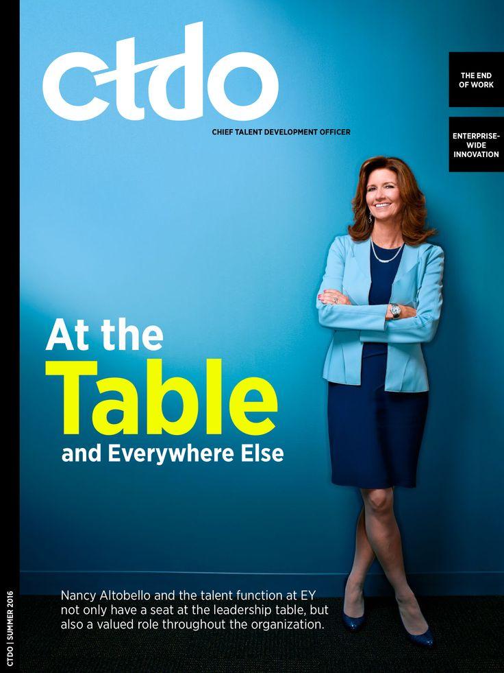 Summer CTDO Mag Features EY's Nancy Altobello