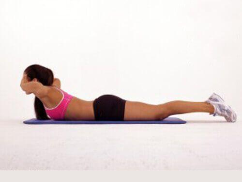 Sırt Yağlarından Kurtulmak İçin Egzersizler
