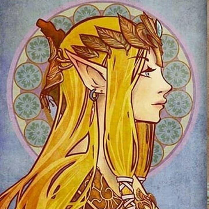 Zelda and Midna #zora #mipha #urbosa #goron # daruk #revali