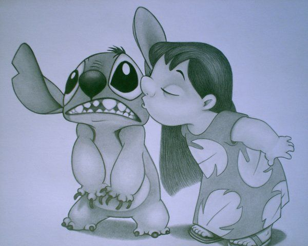 Lilo and Stitch sketch by sinsenor.