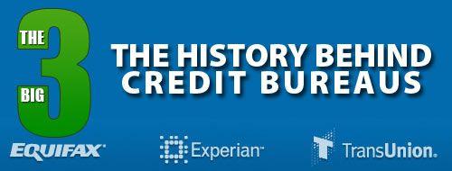 The History of Credit Bureaus