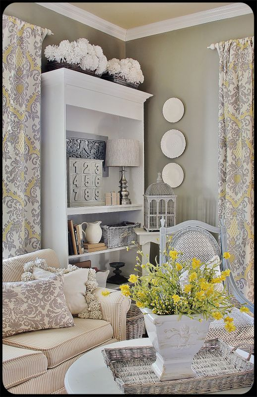 101 Best Living Room Shabby Chic, Farmhouse Chic, French Country Images On  Pinterest | Live, Home And Window