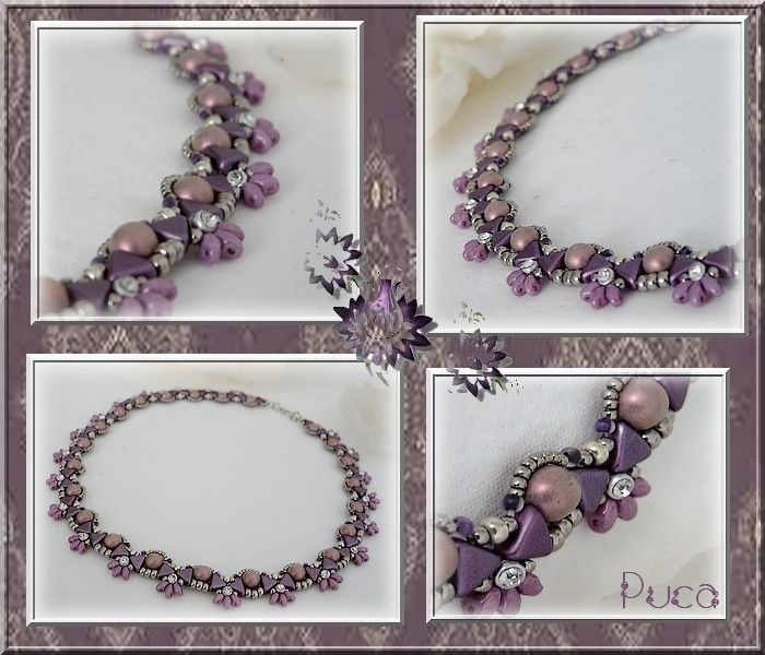 "Schéma Collier ""Nora"" von Les perles de Puca auf DaWanda.com"