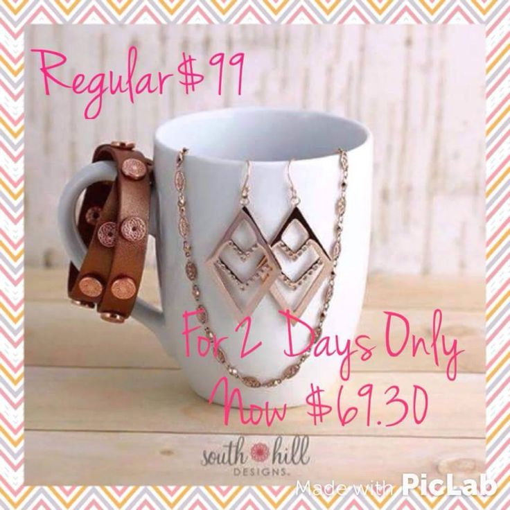 The 2 day temptation from South Hill Designs. Time is running out, get it now! www.southilldesigns.com/kkennedy