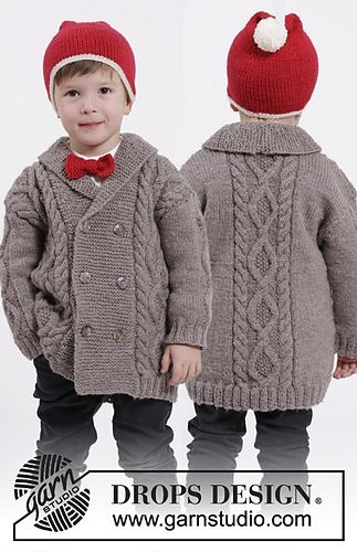 S26-16 Charming Cooper Jacket | 3-12y