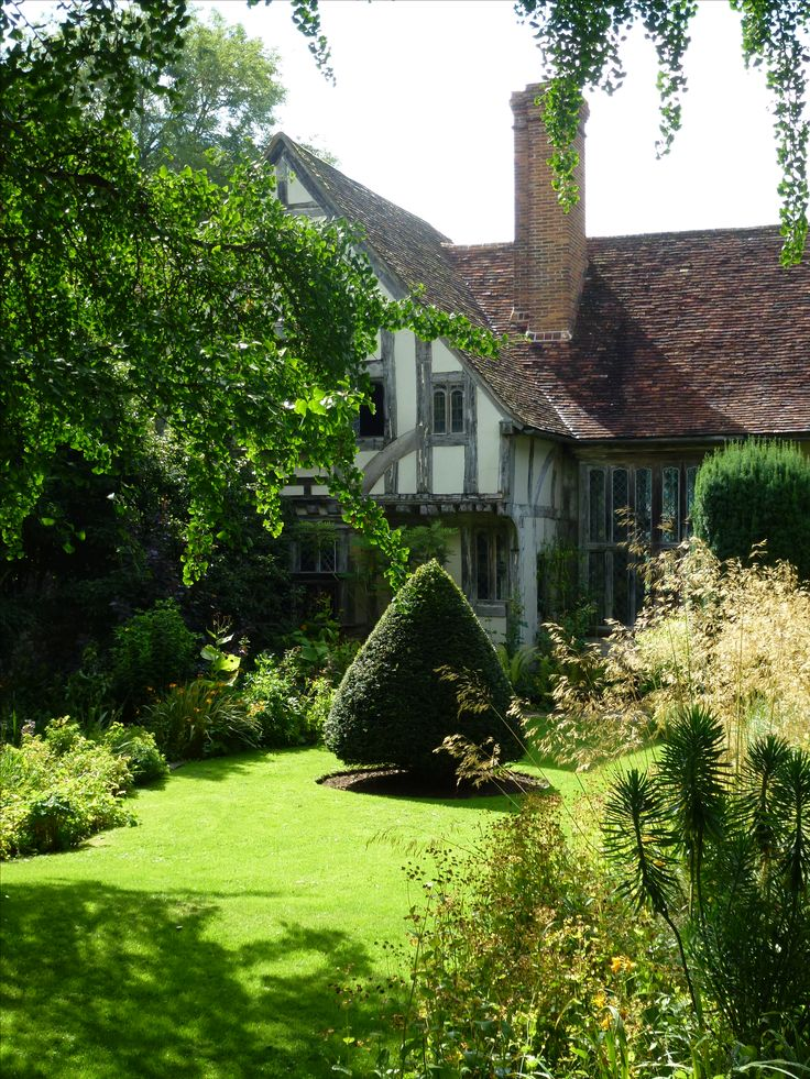 Stoneacre, a medieval yeoman's house, owned by the National Trust. Othman, Kent