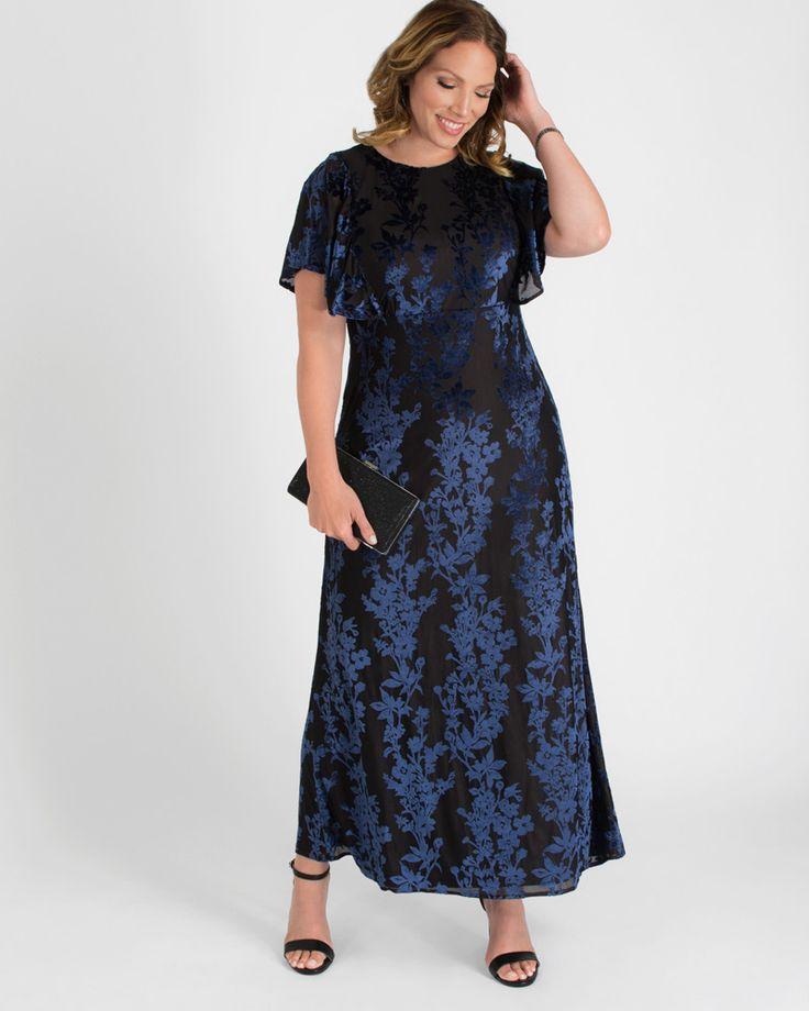 Kiyonna Womens Plus Size Parisian Dream Evening Gown 5