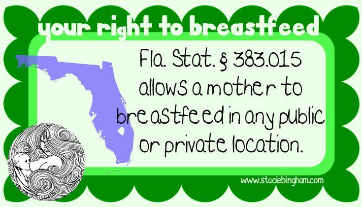 California state law breast feeding