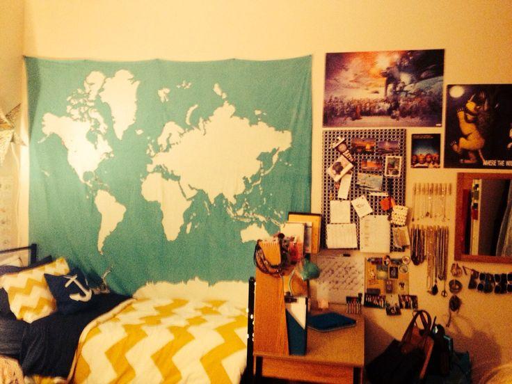 11 best Bedroom/ Dorm Inspiration images on Pinterest | Colleges ...