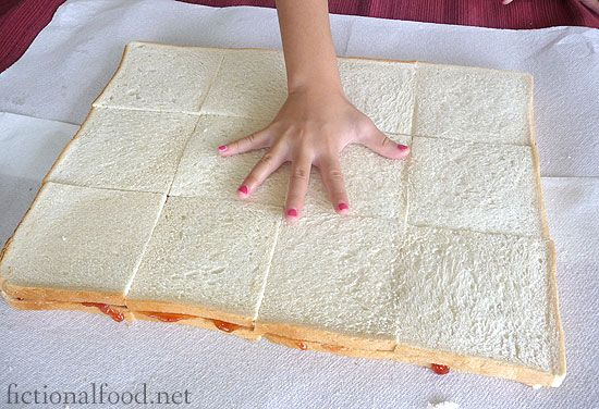 the giant jam sandwich - Make a giant sandwich to go along with the book