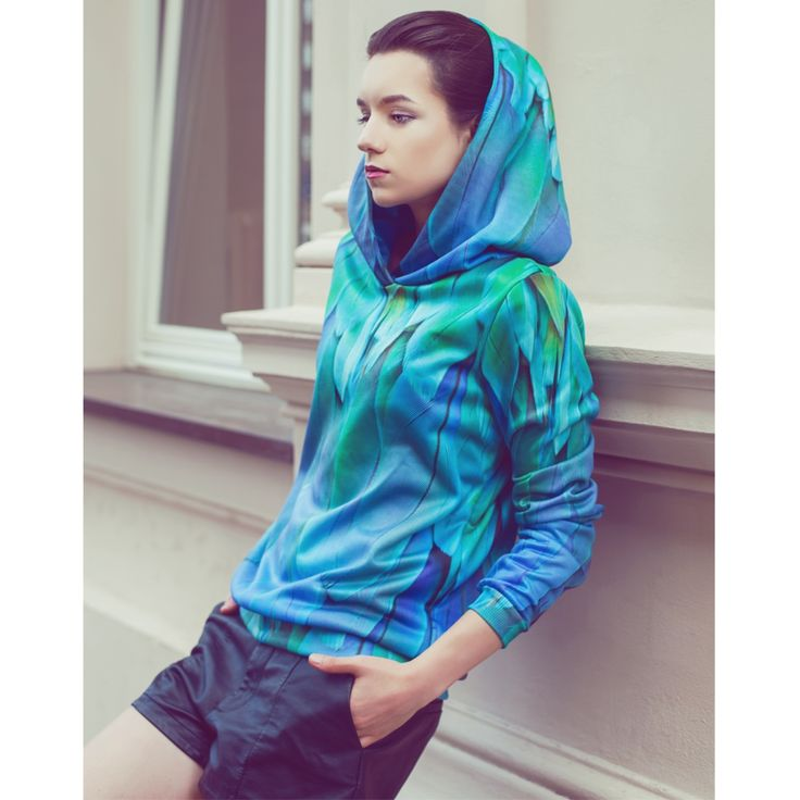 Amazing Peacock Feathers 3D Full Print Hoodie.  Beautiful Colors! Must Have 2015!  Bought from boom-wear.com