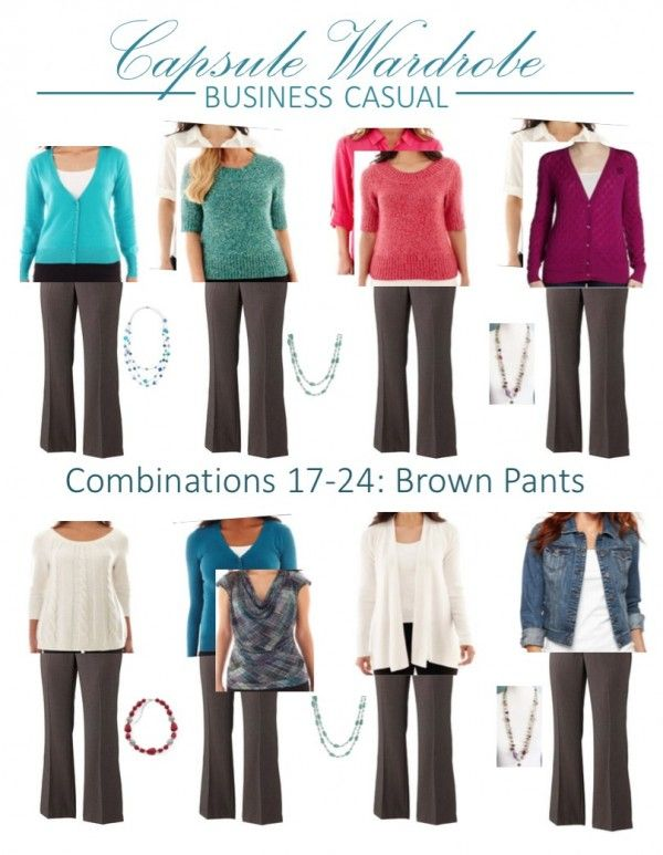 25 pieces, 40+ outfits. Options 17-26 in the business casual capsule wardrobe | Inspired Haven