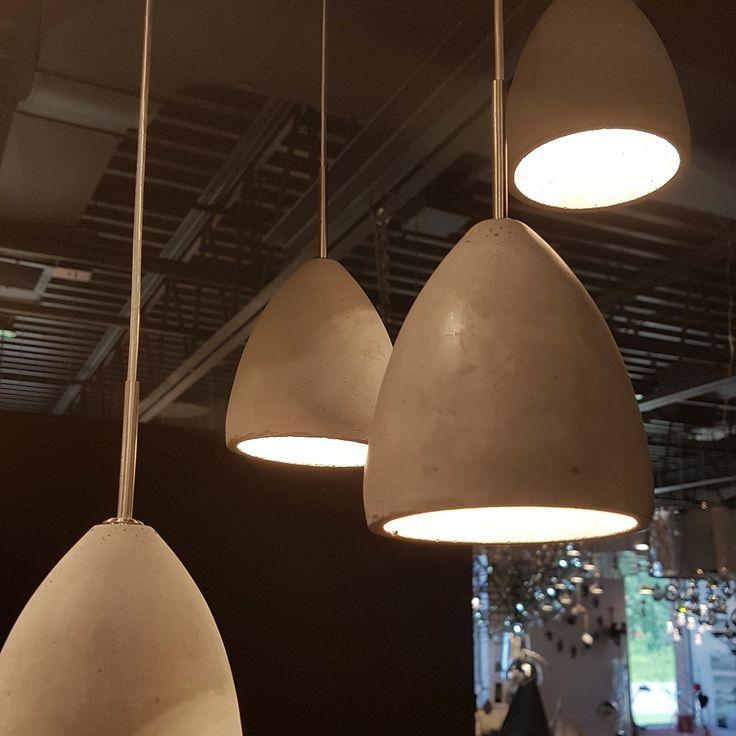 Our most popular LED pendants. Concrete.