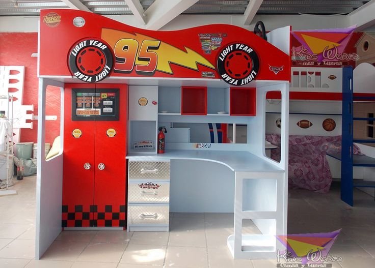 99 best camas para ni os images on pinterest kids rooms - Camas infantiles divertidas ...