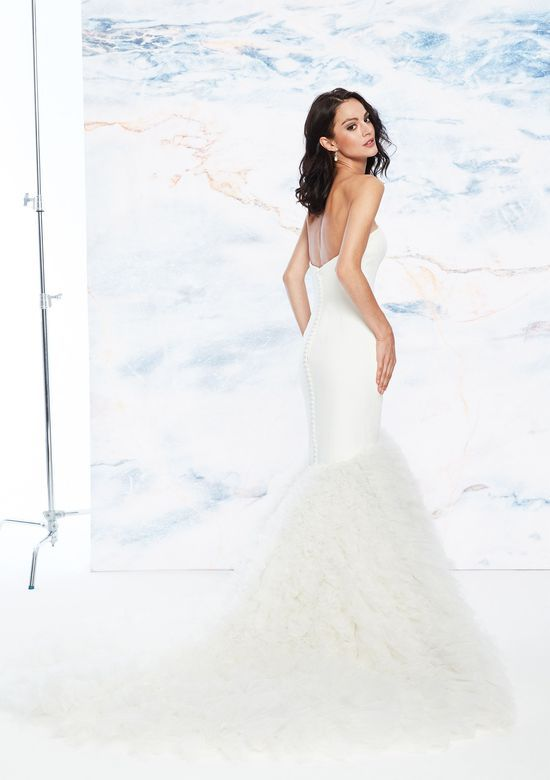 d882c207d23f Justin Alexander Signature - Style 99059: Clean Satin Sweetheart Gown with  Pleated Trumpet Skirt | Bellas Bridal and Formal | www.bellasalabama.com