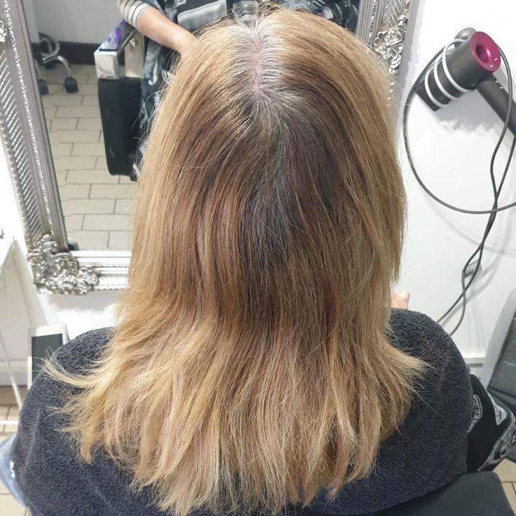 #haar #haar #haarfotos #friseur VOR UND NACH Einer weiteren wunderschönen Farbe von klodge28 Termine in der nächsten Woche. #haar #salon