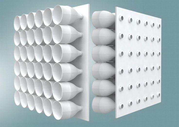 Klimaanlage aus einfachen Plastikflaschen verbraucht keine Energie