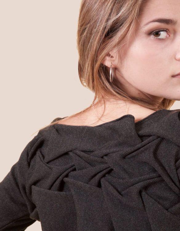 maglia origami back