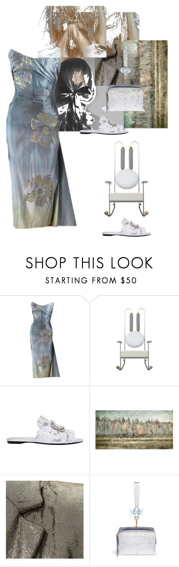 """Looking forwards Looking back"" by palmgrass99 ❤ liked on Polyvore featuring Roger Vivier, Patrizia Pepe and Anya Hindmarch"