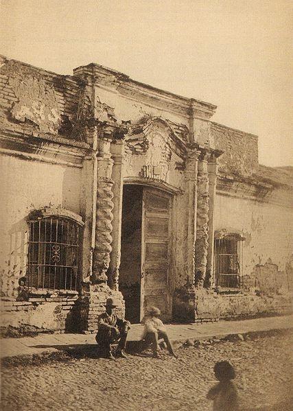 La antigua Casa de Tucumán, donde fue proclamada la independencia de la República Argentina.