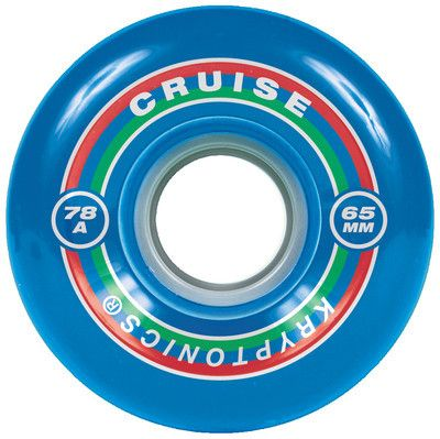 Kryptonics Cruise - Blue - 65mm 78a