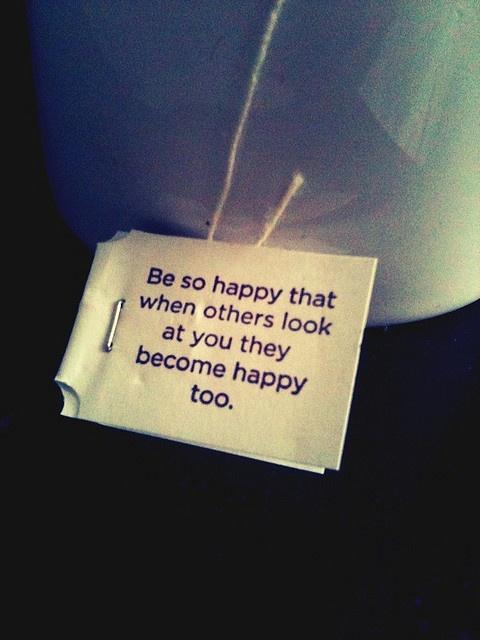 Yogi tea wisdom :)