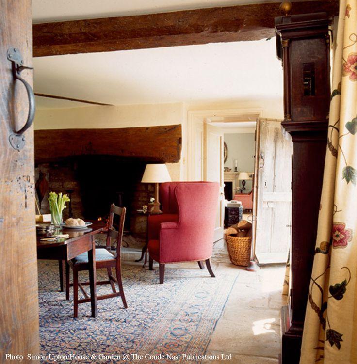 English Cottage Living Room Design Ideas