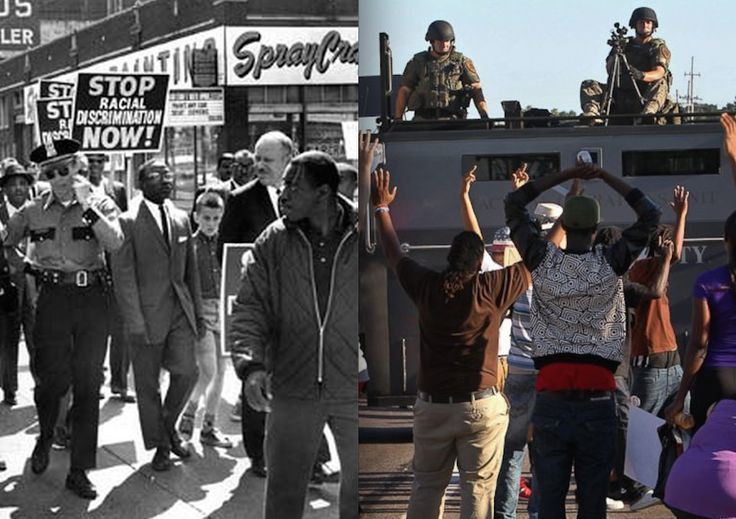 Photos from the Civil Rights Movement and Now: How Far Have We Really Come?