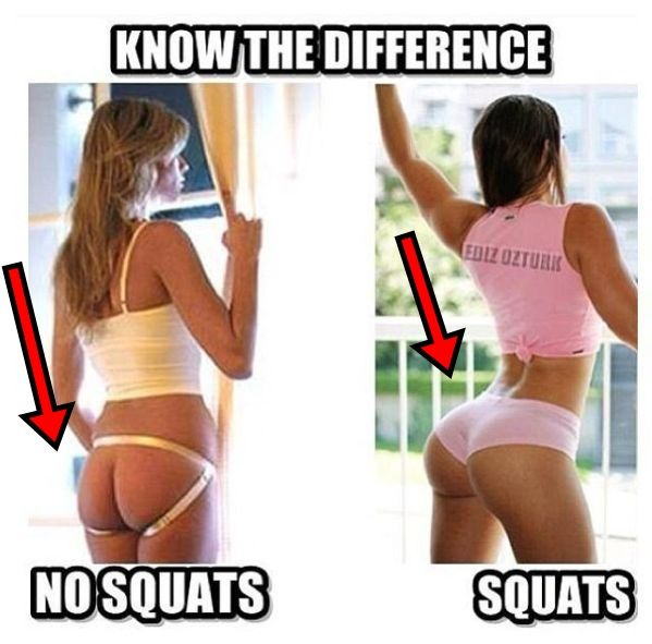 Sorry, Babes who do squats nude