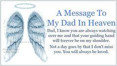 Daveswordsofwisdom.com: A Message To My Dad In Heaven.