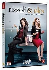 Rizzoli & Isles 1.kausi (3-disc) dvd